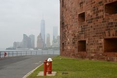 Manhattan Skyline view in the autumn, NYC Stock Photography