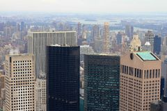 Manhattan Skyscrapers Royalty Free Stock Photos