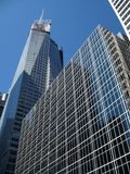 Manhattan Skyscrapers Royalty Free Stock Image