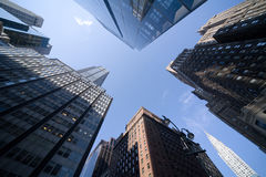 Manhattan  skyscrapers Royalty Free Stock Image