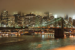 Manhattan skyscrapers Stock Photo