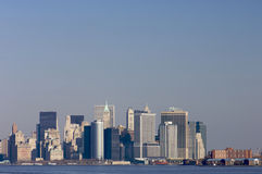 Manhattan South Royalty Free Stock Photography