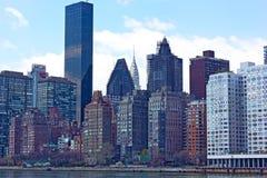 Manhattan in spring. Stock Photo