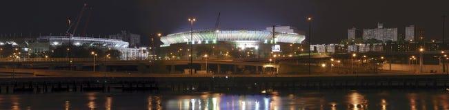 manhattan stadion visad yankee fotografering för bildbyråer