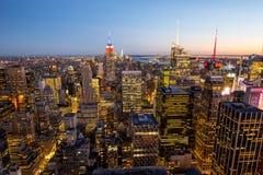 Manhattan - Stadt des neuen Werks - USA Lizenzfreies Stockfoto