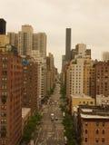 Manhattan-Stadtmittestadt scape lizenzfreie stockfotografie