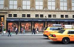 Manhattan-Stadtweg Stockfotografie