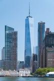Manhattan-Stadtzentrumabschluß oben lizenzfreie stockbilder