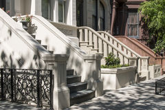Manhattan Stoops - New York City Stock Photography