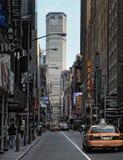 Manhattan-Straße in New York City Lizenzfreie Stockfotos