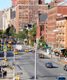 Manhattan Street Stock Photo