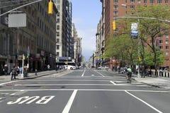 Manhattan street Stock Photos
