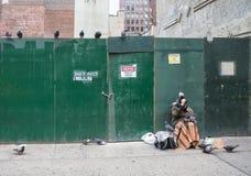 Manhattan street scene Royalty Free Stock Photo