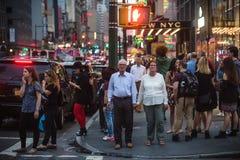 Manhattan street scene Royalty Free Stock Image