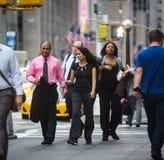 Manhattan street scene Royalty Free Stock Photography