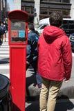 Manhattan street scene, NYC Royalty Free Stock Image