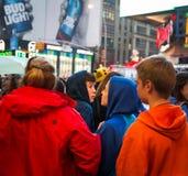 Manhattan street scene, NYC Royalty Free Stock Photography