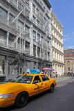 Manhattan, street in Soho Stock Image