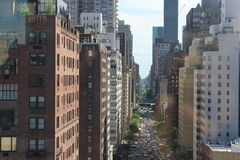 Manhattan street Stock Image