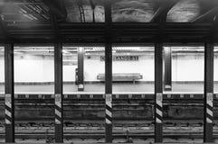Manhattan Subway Station Royalty Free Stock Photos