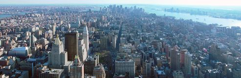 Manhattan sul Foto de Stock