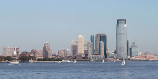 Manhattan in sun Royalty Free Stock Photography