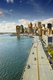 Manhattan at sunny day. Stock Photography