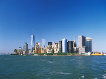 Manhattan on a sunny day. Stock Photo