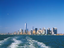 Manhattan on a sunny day. Stock Photography