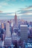 Manhattan Sunset Royalty Free Stock Photography
