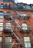 manhattan tenement Arkivbilder