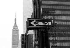 Manhattan 8th Av New York city US Royalty Free Stock Photos