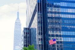 Manhattan 8th Av New York city US Royalty Free Stock Photo