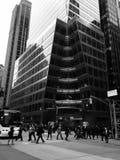 Manhattan, 40th rua e 6a avenida Foto de Stock Royalty Free