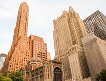 Manhattan torn Royaltyfria Foton
