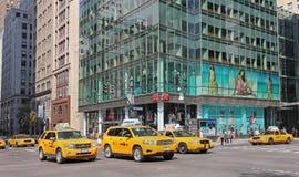 Manhattan traffic Royalty Free Stock Image