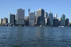 Manhattan-Ufergegend lizenzfreie stockbilder