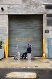 Manhattan ulicy scena Zdjęcia Royalty Free