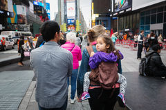 Manhattan ulicy scena Zdjęcie Stock