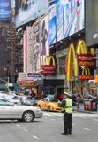 Manhattan ulicy scena Fotografia Royalty Free