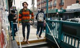 Manhattan ulicy scena Fotografia Stock