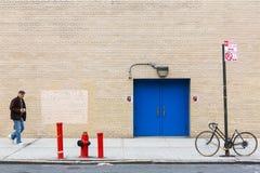 Manhattan ulicy scena Fotografia Royalty Free
