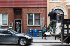 Manhattan ulicy scena Obraz Stock