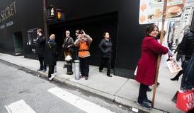 Manhattan ulicy scena Zdjęcie Royalty Free