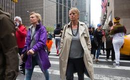 Manhattan ulicy scena Zdjęcia Stock