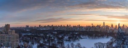 Manhattan und Brooklyn-Brücke Lizenzfreies Stockbild
