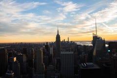 Manhattan und Brooklyn-Brücke Lizenzfreie Stockbilder