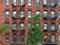 Manhattan upper east side apartment building Stock Images