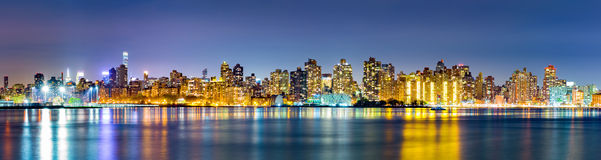 Manhattan Upper East Side skyline Stock Image