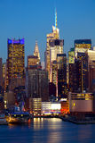 Manhattan urban architecture Stock Photo